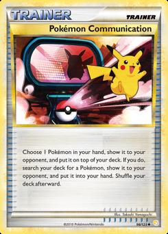 Pokémon Communication