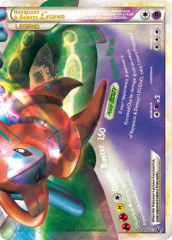 Rayquaza & Deoxys LEGEND