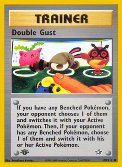 Double Gust card for Neo Genesis