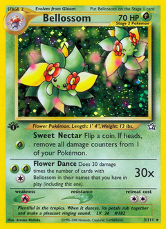 Bellossom card for Neo Genesis