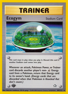 Ecogym card for Neo Genesis