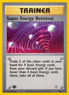 Super Energy Retrieval