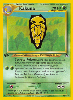 Kakuna card for Neo Discovery
