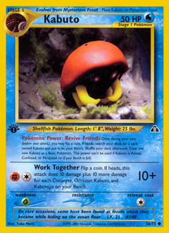 Kabuto card for Neo Discovery