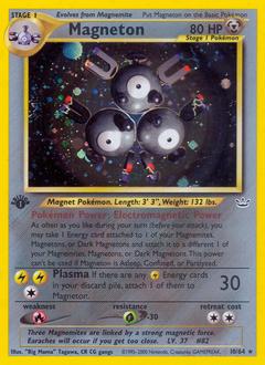 Magneton card for Neo Revelation