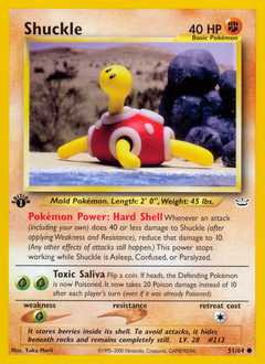 Shuckle card for Neo Revelation