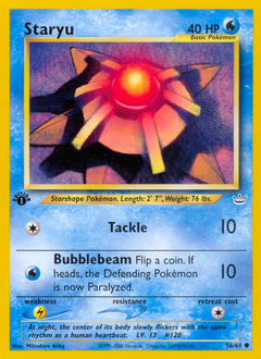 Staryu card for Neo Revelation