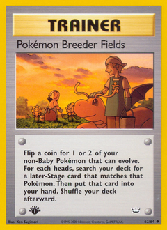 Pokémon Breeder Fields