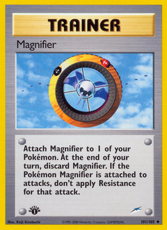 Magnifier card for Neo Destiny