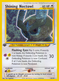Shining Noctowl card for Neo Destiny