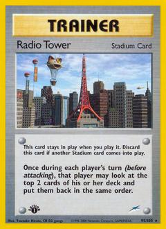 Radio Tower card for Neo Destiny