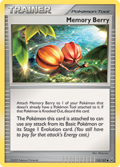 Memory Berry card for Platinum