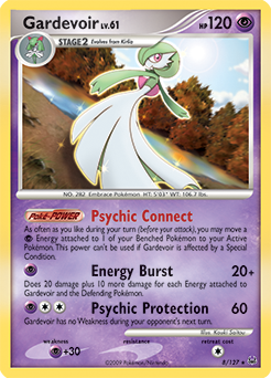 Gardevoir card for Platinum
