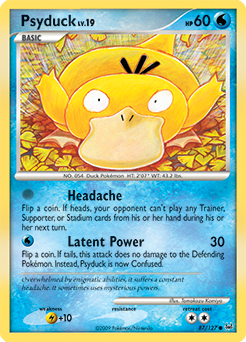 Psyduck card for Platinum