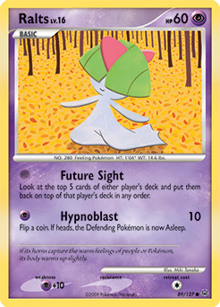 Ralts card for Platinum