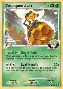 Vespiquen 4 card for Rising Rivals