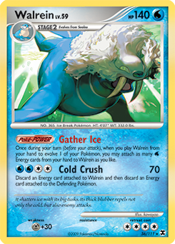 Walrein card for Rising Rivals