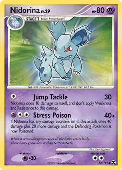 Nidorina card for Rising Rivals
