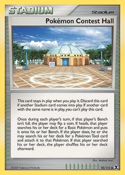 Pokémon Contest Hall