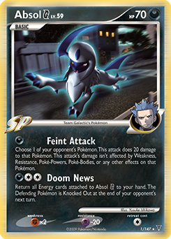 Absol G card for Supreme Victors