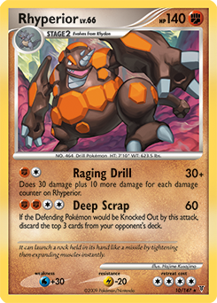 Rhyperior card for Supreme Victors