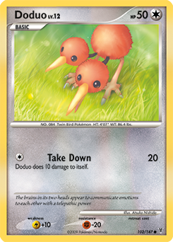 Doduo card for Supreme Victors