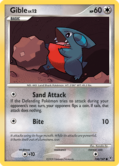Gible card for Supreme Victors