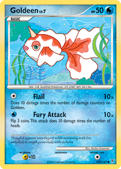 Goldeen card for Supreme Victors