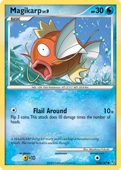 Magikarp card for Supreme Victors