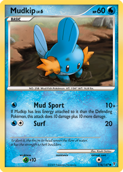 Mudkip card for Supreme Victors