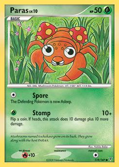 Paras card for Supreme Victors