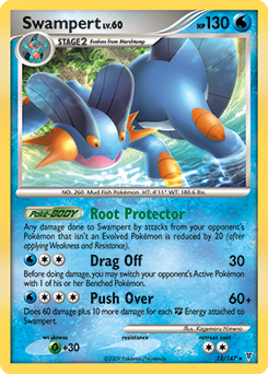 Swampert card for Supreme Victors