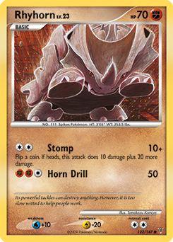 Rhyhorn card for Supreme Victors