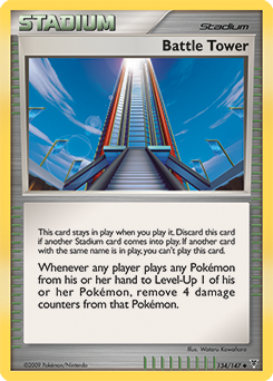 Battle Tower card for Supreme Victors
