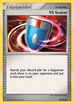 VS Seeker card for Supreme Victors