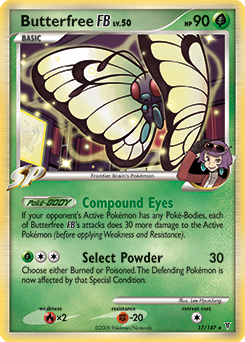 Butterfree FB card for Supreme Victors