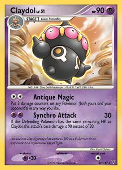 Claydol card for Supreme Victors