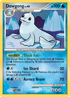 Dewgong card for Supreme Victors