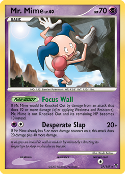 Mr. Mime card for Supreme Victors
