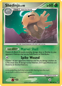 Shedinja card for Supreme Victors