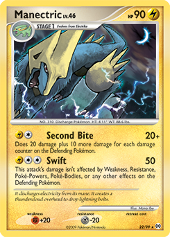 Manectric card for Arceus
