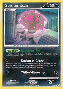 Spiritomb card for Arceus