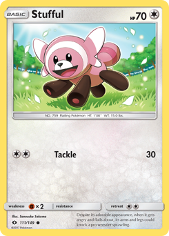 Stufful card for Sun & Moon