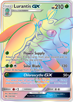 Lurantis-GX card for Sun & Moon