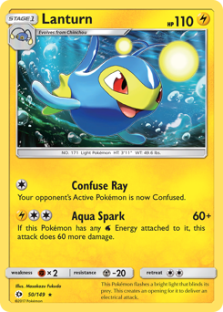Lanturn card for Sun & Moon