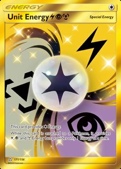 Unit Energy LightningPsychicMetal