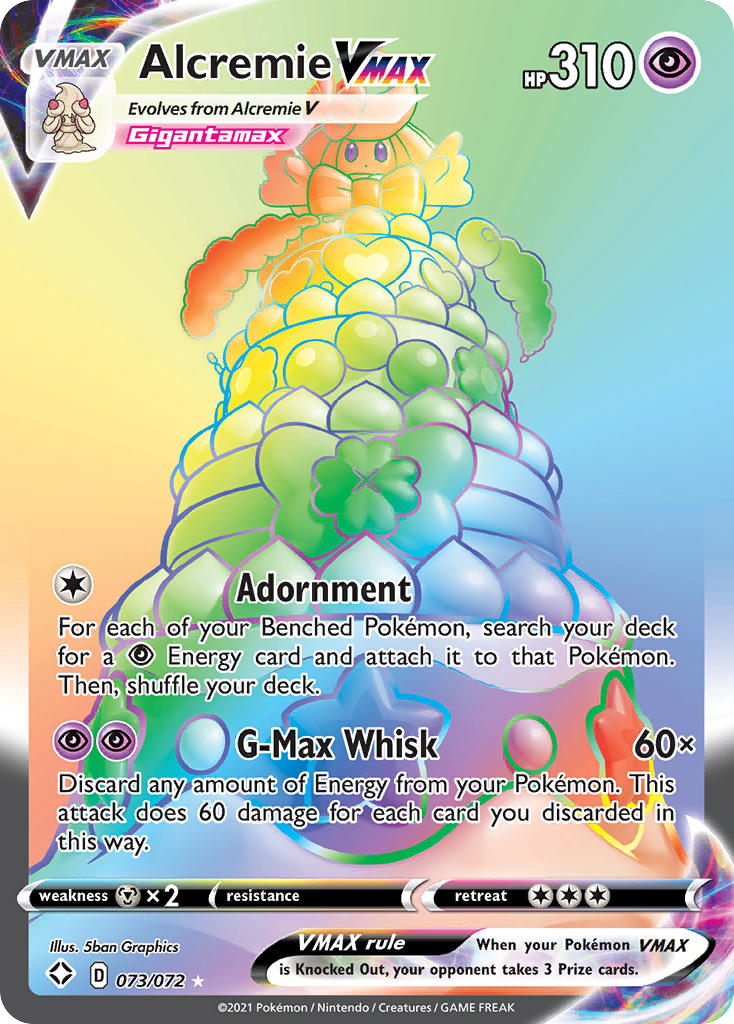 Image for Alcremie VMAX