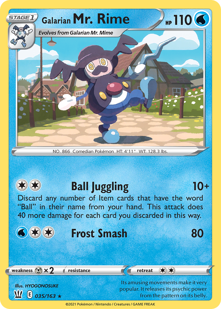 Image for Galarian Mr. Rime