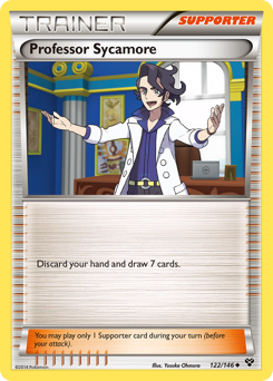 Professor Sycamore card for XY