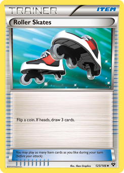 Roller Skates card for XY